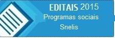 EDITAL Snelis 2015